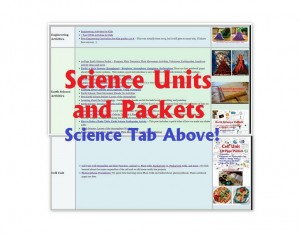 Science Units and Packets