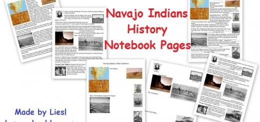 Navajo Indian History worksheets