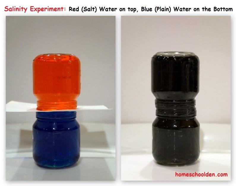 Salinity Experiments Ocean Unit