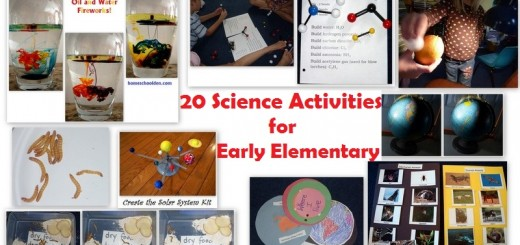 Science Activities for Early Elementary