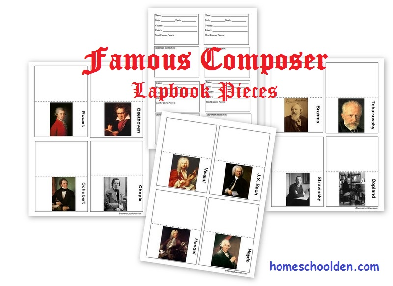Famous-Composer-Lapbook
