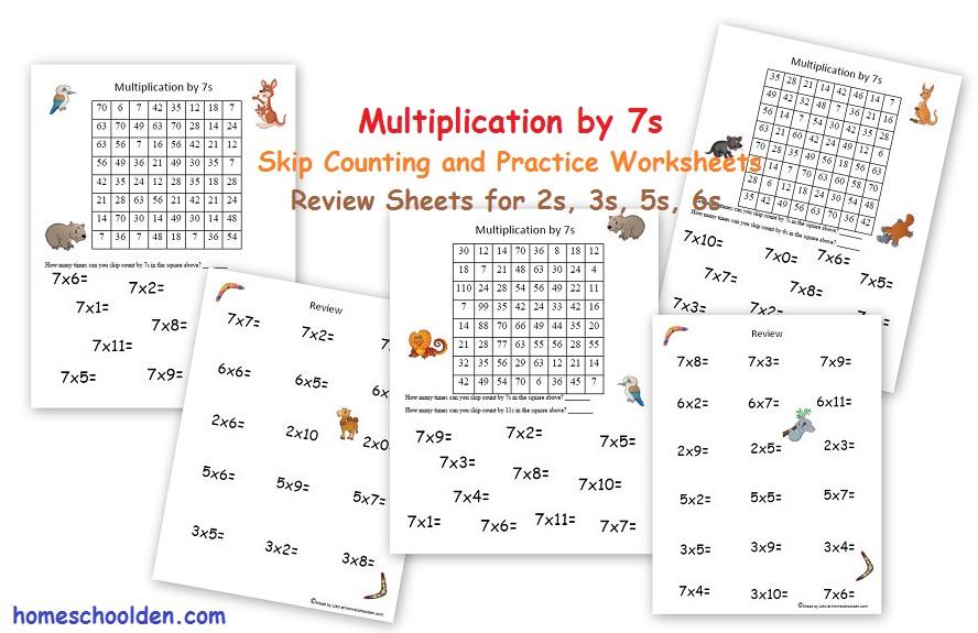Free Easter Multiplication and Division Worksheets - Homeschool Den