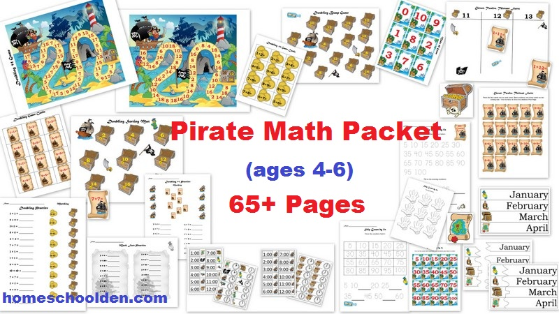 Place Value Video Post: Place Value Printables and Pirate Math ...