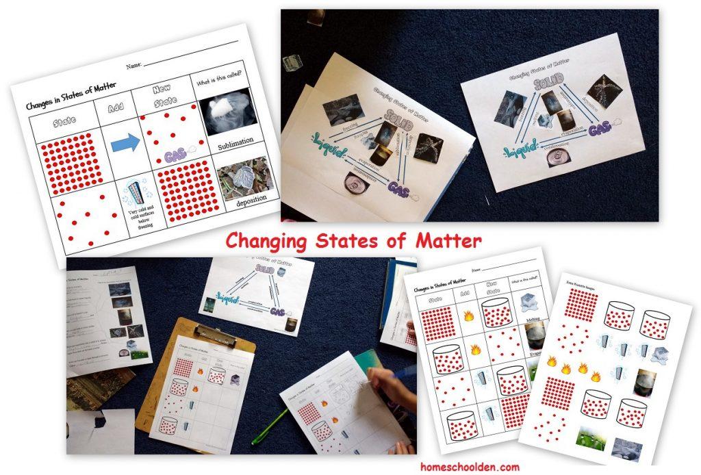 changing-states-of-matter-worksheets
