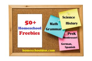 Homeschool Freebies – Free Packets and Printables