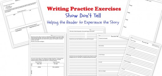 Show Don't Tell Writing Worksheets