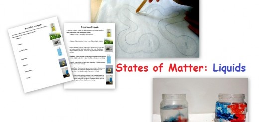 States of Matter Activities about Liquids