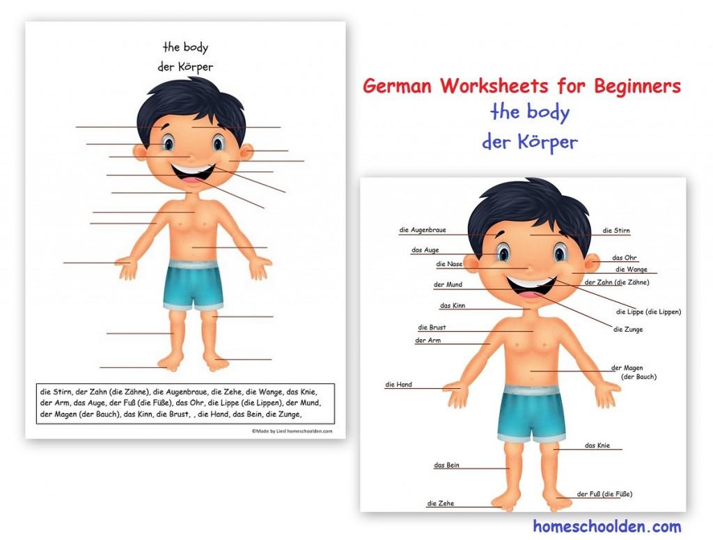 Workbooks story writing worksheets for grade 1 : Free German Worksheets for Kids - Homeschool Den
