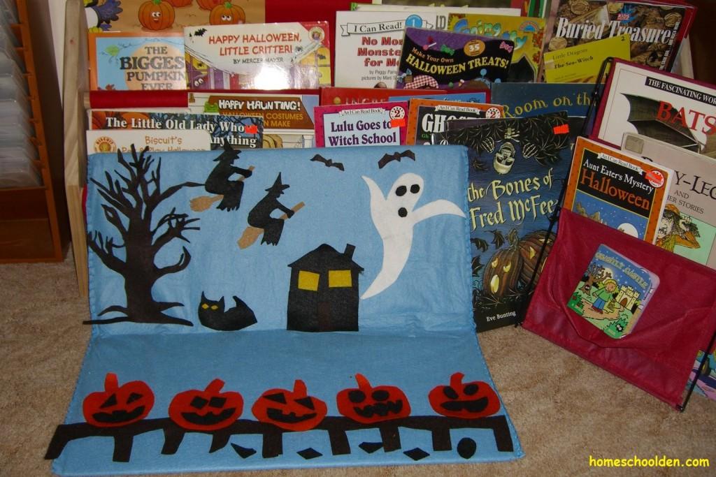 halloween-felt-board-scene
