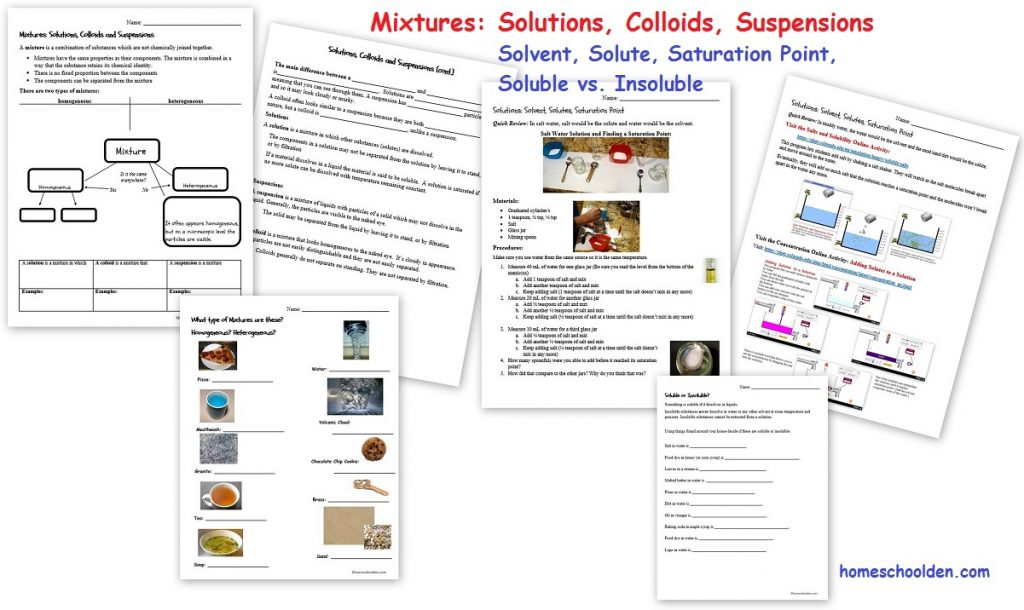 Workbooks mixture worksheets : Physical Properties of Matter – Chemical Properties of Matter 45+ ...