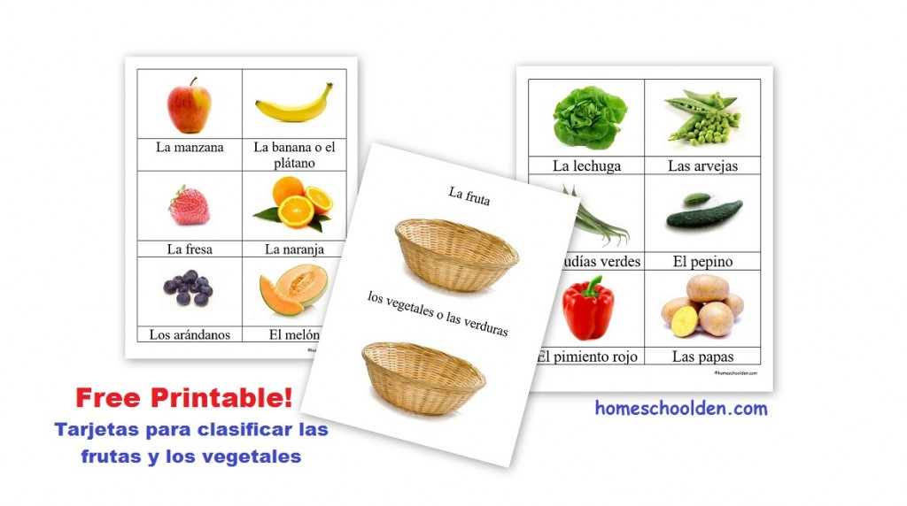 Free Printable Pictures Of Fruits And Vegetables