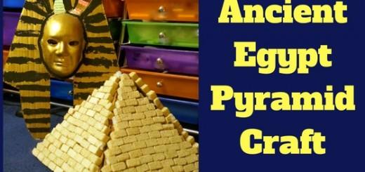 Ancient Egypt Pyramid Craft