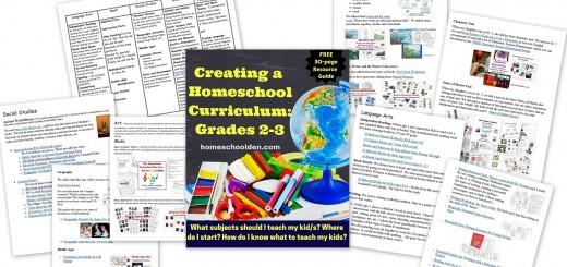 Homeschool Science Curriculum Grade 2-3