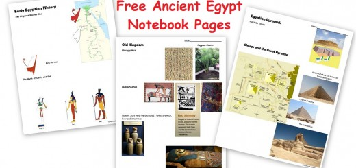 Free Ancient Egypt Worksheets