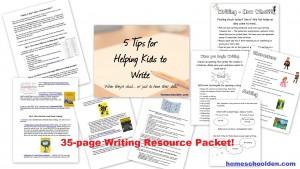 Writing Homeschool