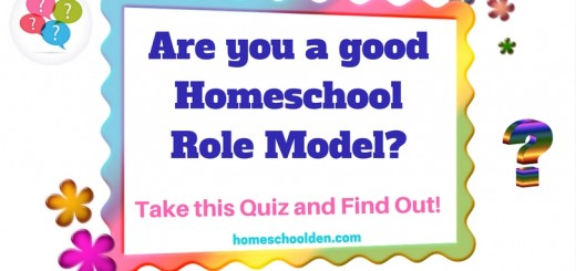 Are you a good Homeschool Role Model - take this quiz