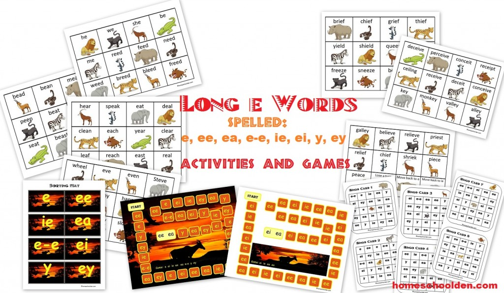 Long E Sound Word Sort Activities And