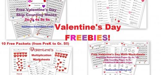 Valentine's Day Freebies