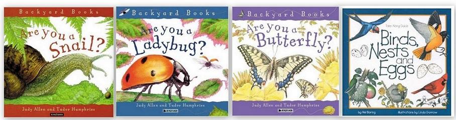 Backyard Animals Books