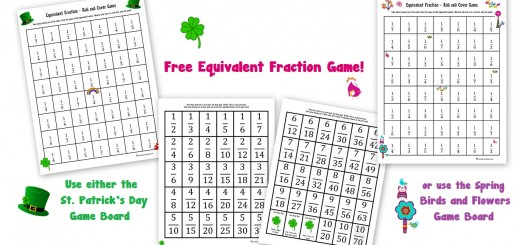 Free Equivalent Fraction Game