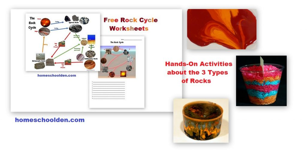Rocks And The Rock Cycle Sedimentary Metamorphic And
