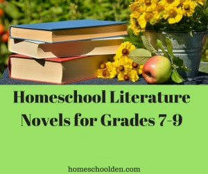 Reading List Grades 7 to 9