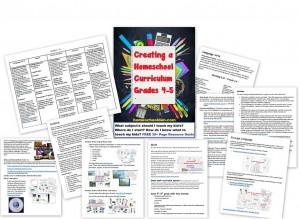 Creating Your Own Homeschool Curriculum Grade 4 - 5