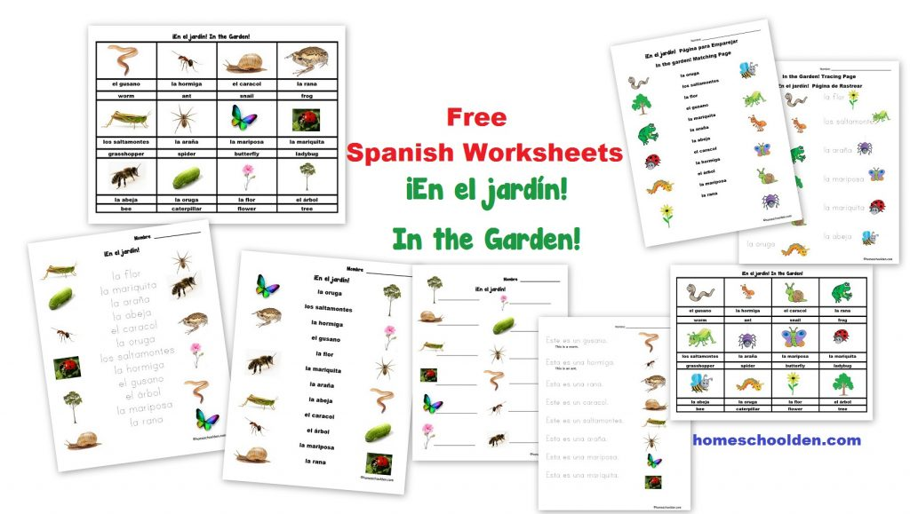 Workbooks teach english to spanish speakers worksheets : Free Spanish Worksheet: Parts of the Body – El Cuerpo - Homeschool Den