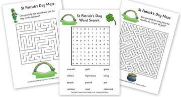 StPatricksDay-Puzzles-Mazes