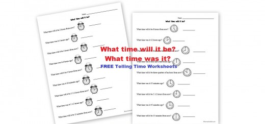 Free Clock Telling Time Worksheets