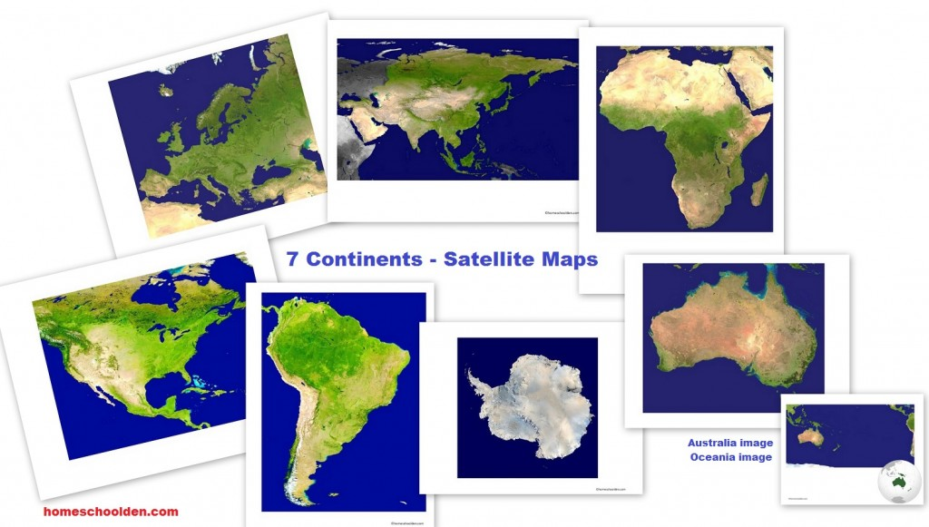 Seven Continents Maps