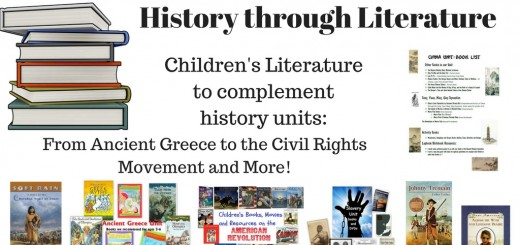 History through Literature - Book Lists for Elementary