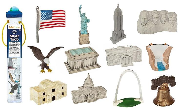 Us Landmarks And Symbols Free 3 Part Montessori Cards Homeschool Den