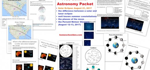 Astronomy-Packet-eclipse-phases-of-moon-meteor-showers