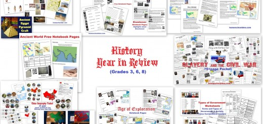 History Homeschool Year in Review