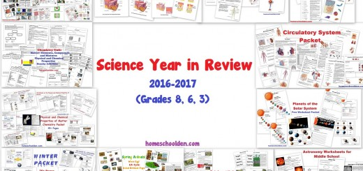 Science Homeschool Year in Review