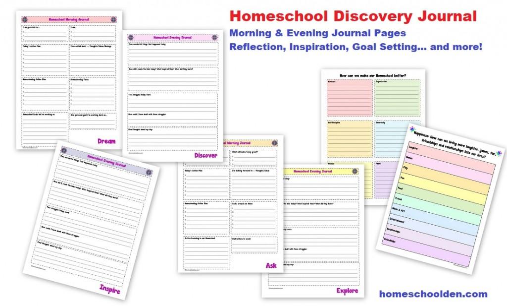 Homeschool Discovery Journal