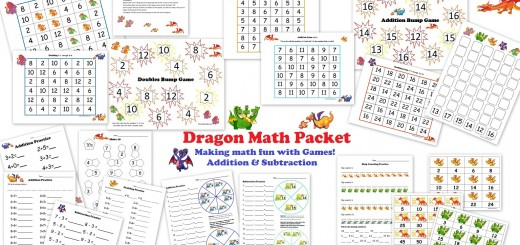 Addition Games for Math