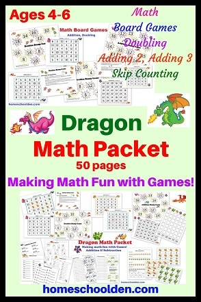 Dragon Math Packet