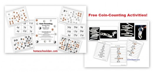 Free Coin Counting Printables