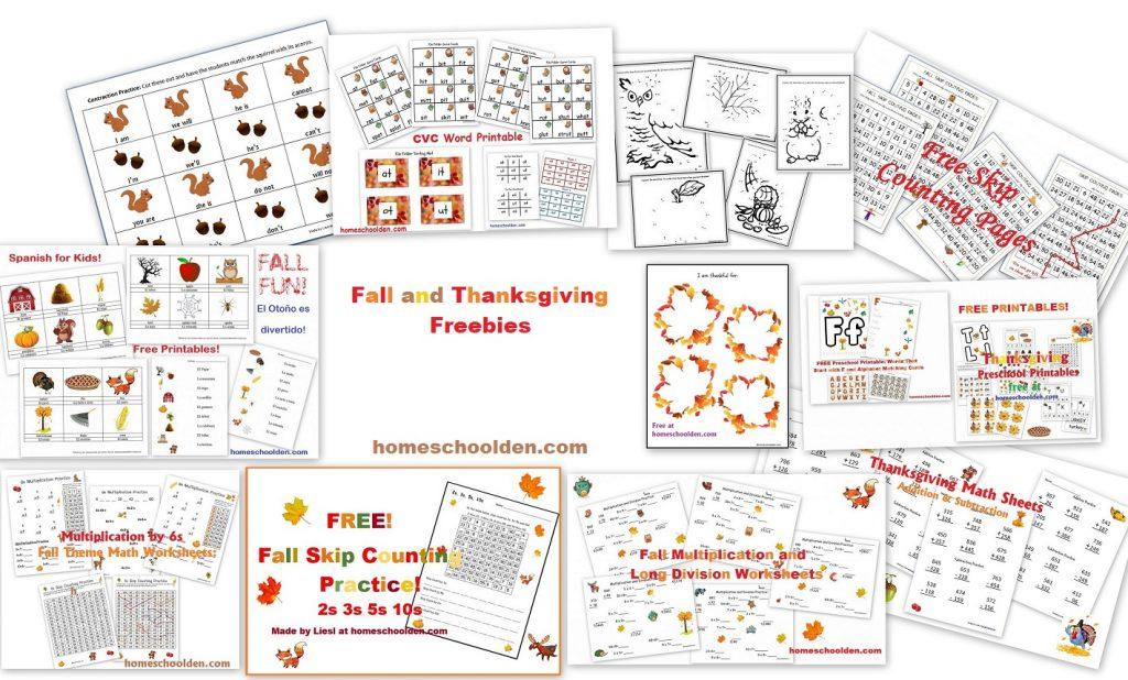 Holiday: Thanksgiving - Homeschool Den