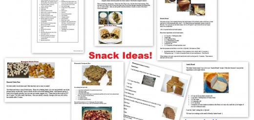 Hearlthy Snack List for Kids
