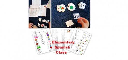 Elementary Spanish Class - Homeschool Spanish