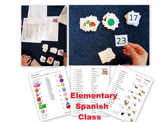 Elementary Spanish Class - Online