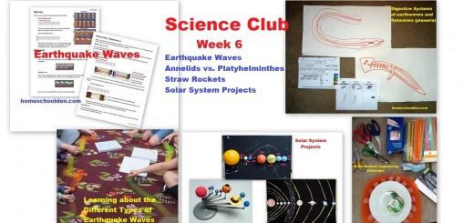 Science Club Week 6