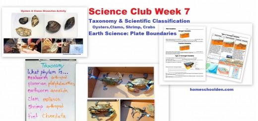 Science Club Week 7