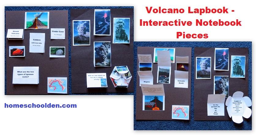 Volcano-Lapbook-Interactive-Notebook-Pieces