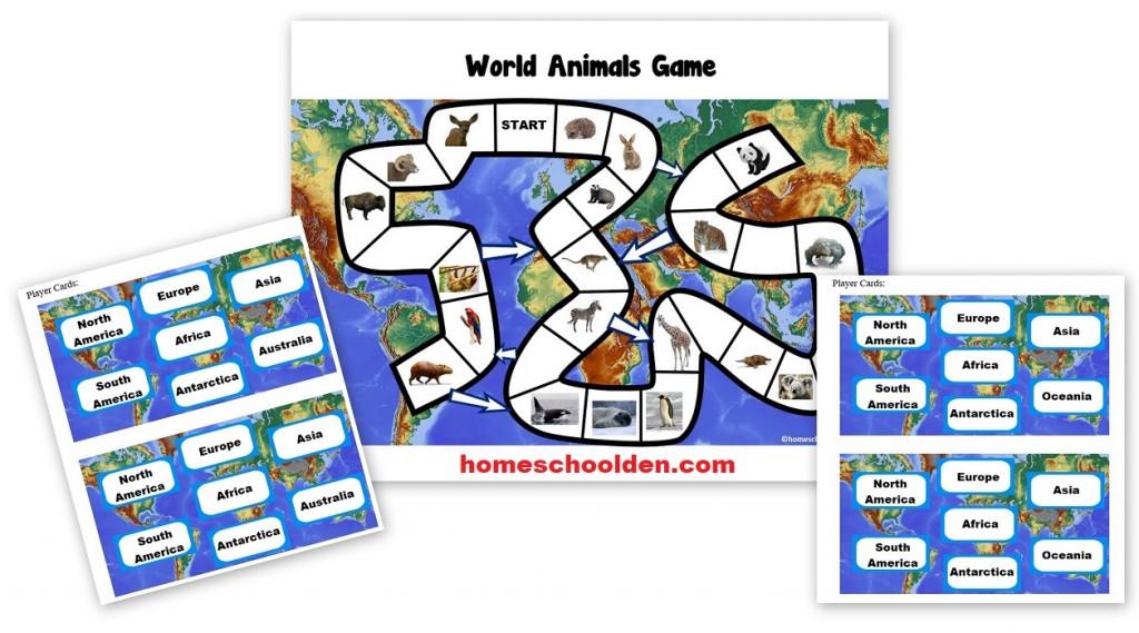 World Animals Game