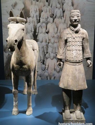 Terracotta Army- Cavalry Horse Cavalryman