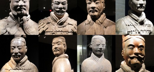 Terracotta Warriors unique faces